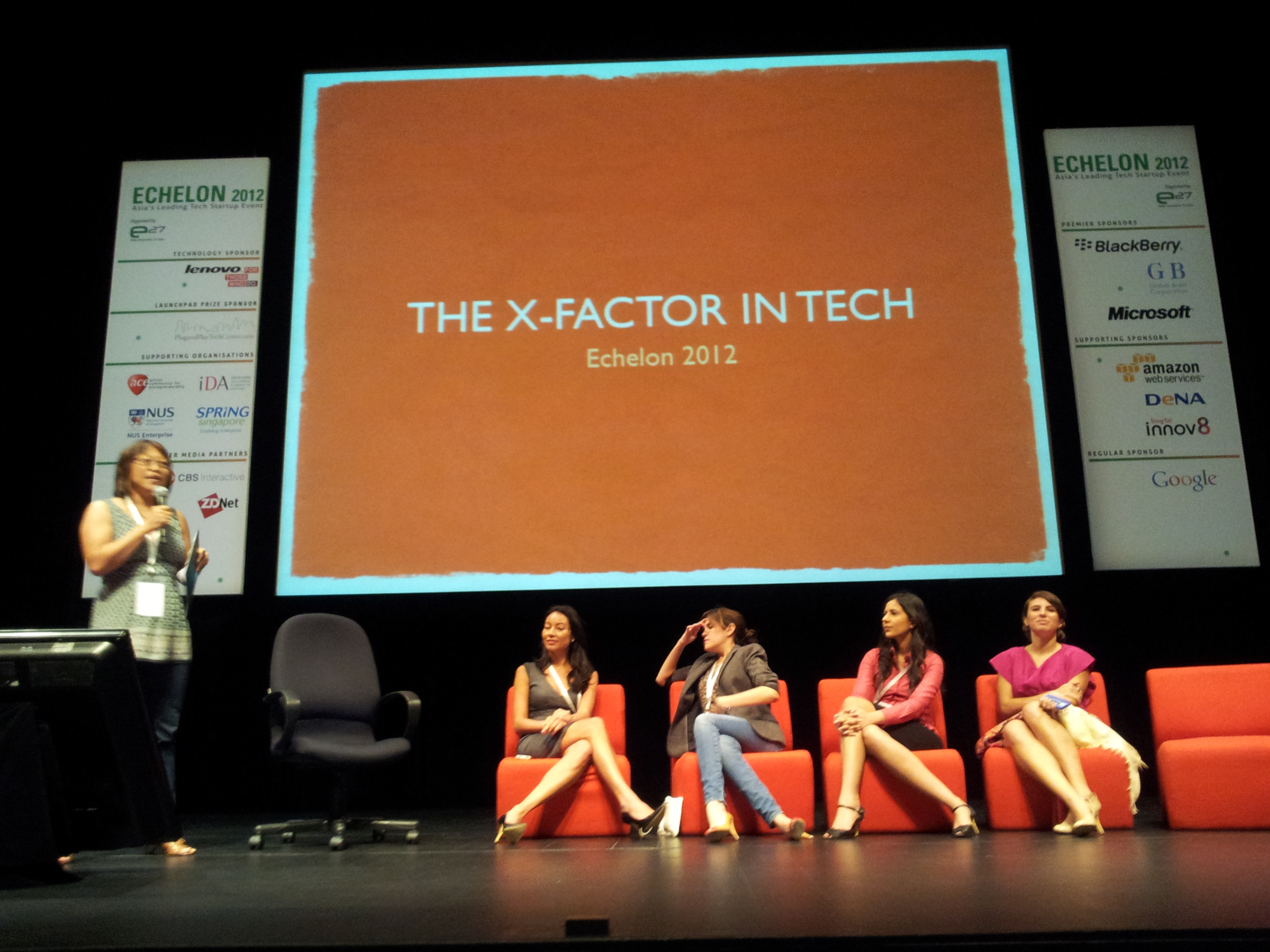 How and why women are the X-factor in the tech scene